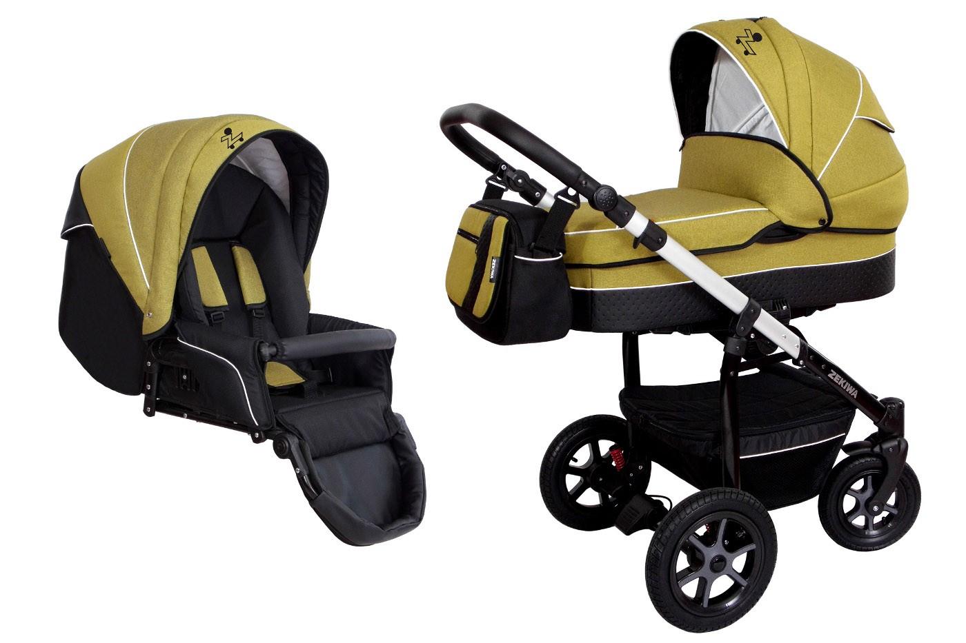 zekiwa moderner kombi kinderwagen saturn 2in1 mit babywanne sportwagenaufsatz buggy oder. Black Bedroom Furniture Sets. Home Design Ideas