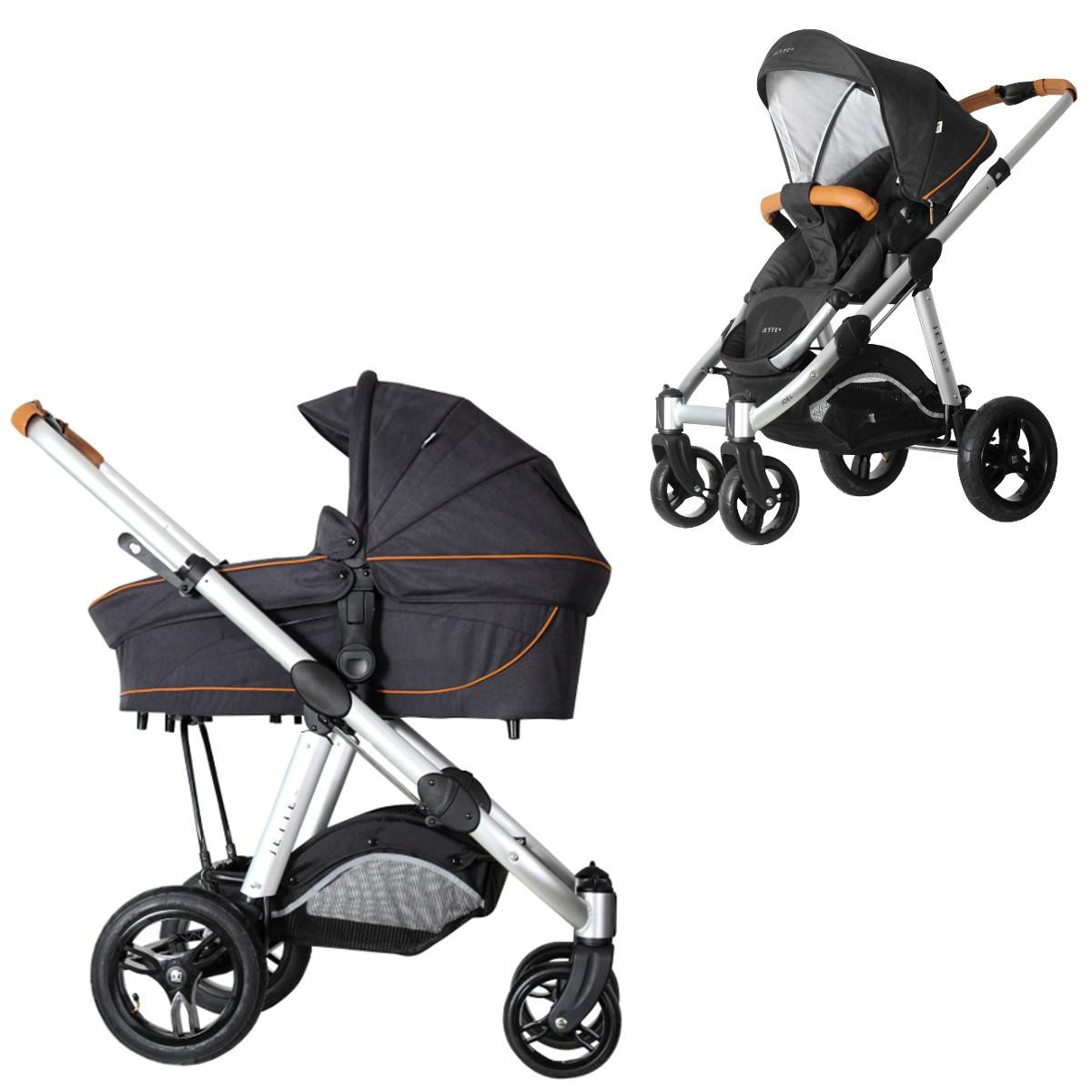 jette joel air kombi kinderwagen 2in1 mit babywanne. Black Bedroom Furniture Sets. Home Design Ideas