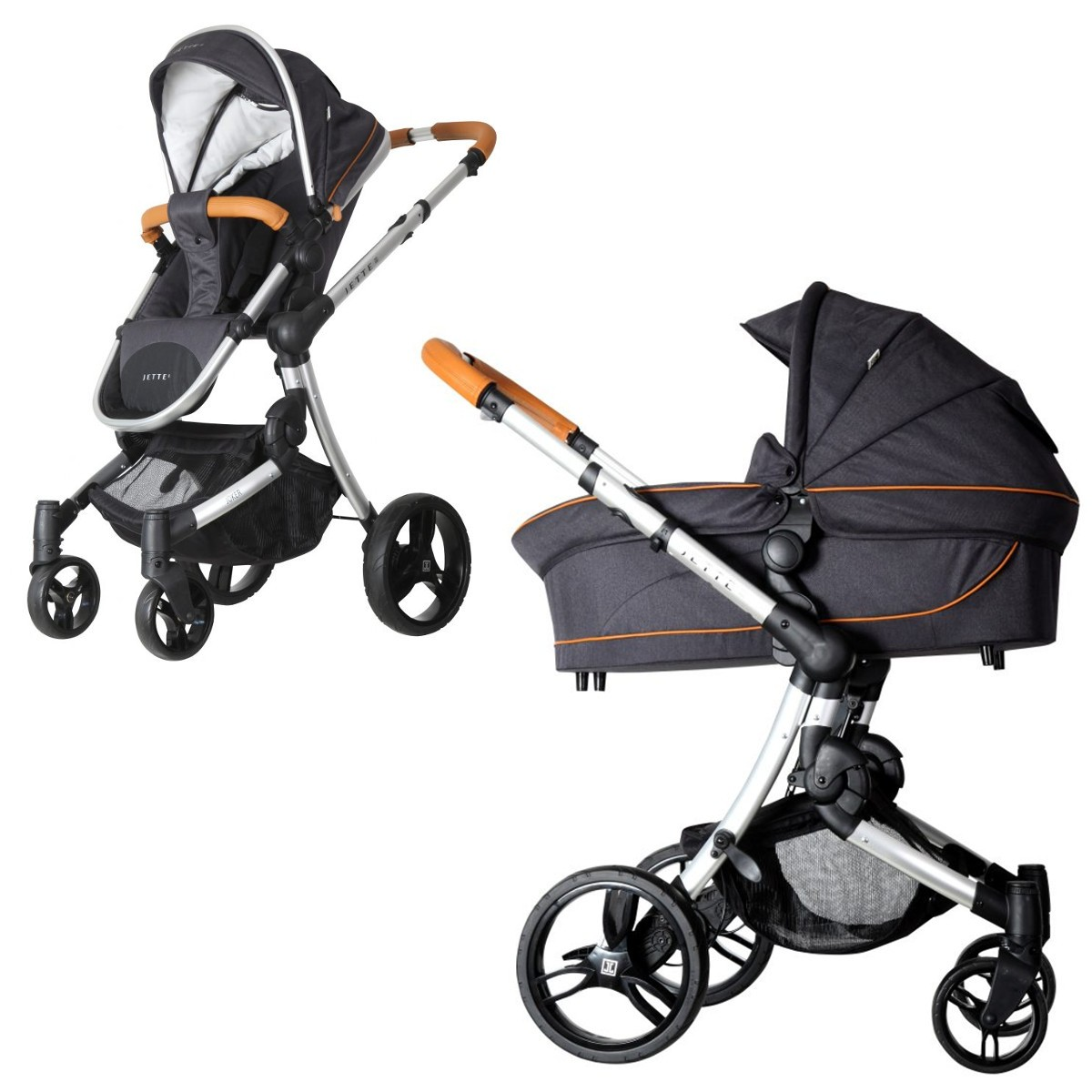 jette joker kombi kinderwagen 2in1 mit babywanne sportwagenaufsatz buggy. Black Bedroom Furniture Sets. Home Design Ideas