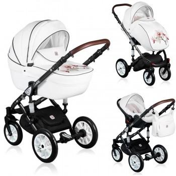 Dada Paradiso Orchidea 2in1 mit Babywanne + Sportwagenaufsatz / Buggy oder 3in1 + Babyschale / Autoschale