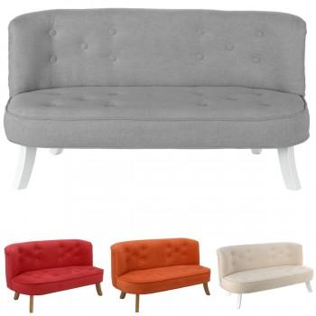 Somebunny Design Luxus Kindersofa Samt, 100% handgemacht, mitwachsend, 4 Farben