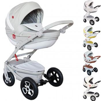 Tutek Timer Eco Kombi Kinderwagen, 2in1 mit Babywanne + Sportwagenaufsatz / Buggy oder 3in1 + Babyschale / Autoschale, 5 Farben
