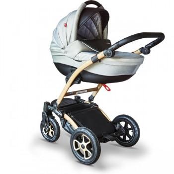 Tutek Torero Eco Gold limited edition Kombi Kinderwagen, 2in1 mit Babywanne + Sportwagenaufsatz / Buggy oder 3in1 + Babyschale / Autoschale
