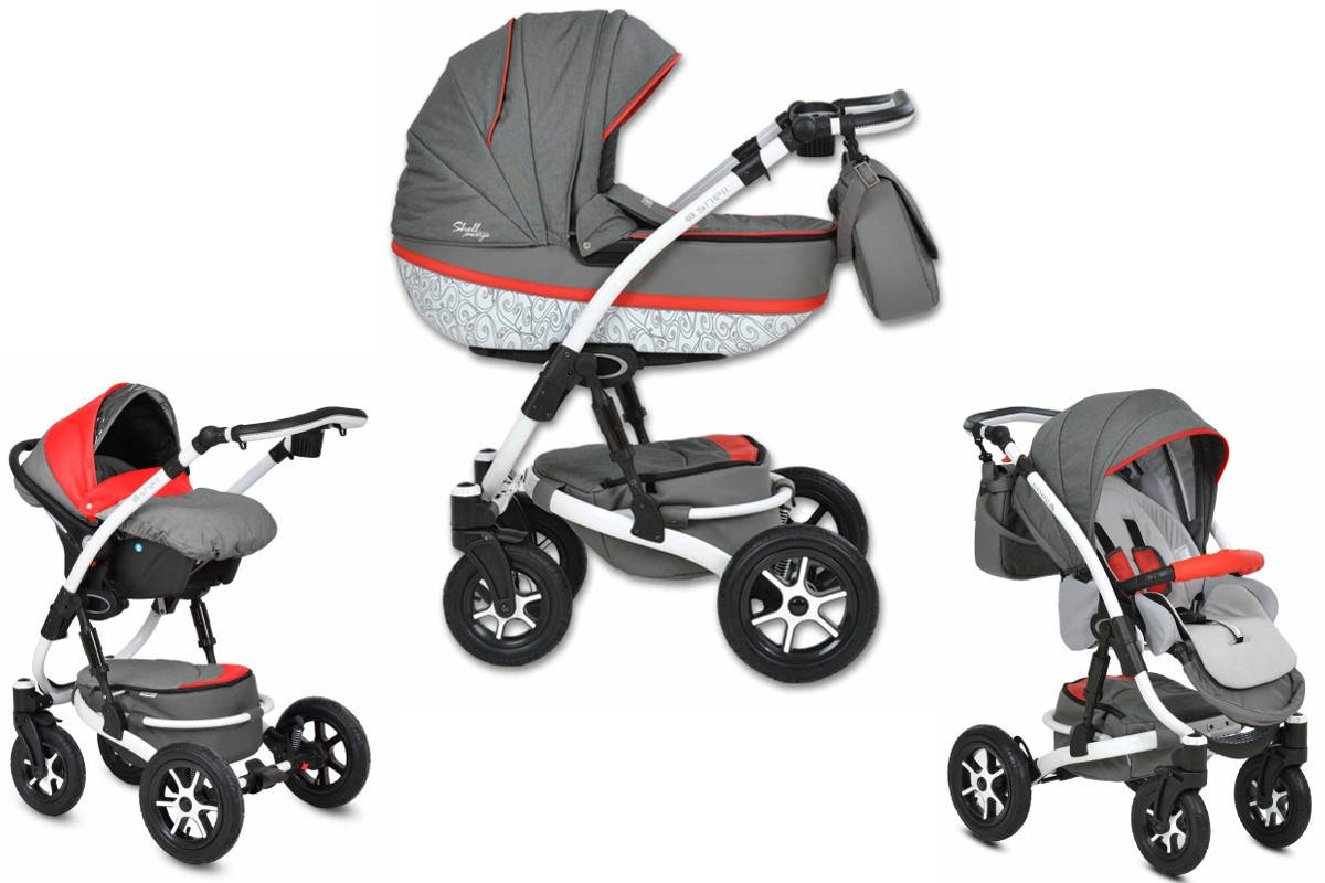 shell prestige kombi kinderwagen 2in1 mit babywanne. Black Bedroom Furniture Sets. Home Design Ideas