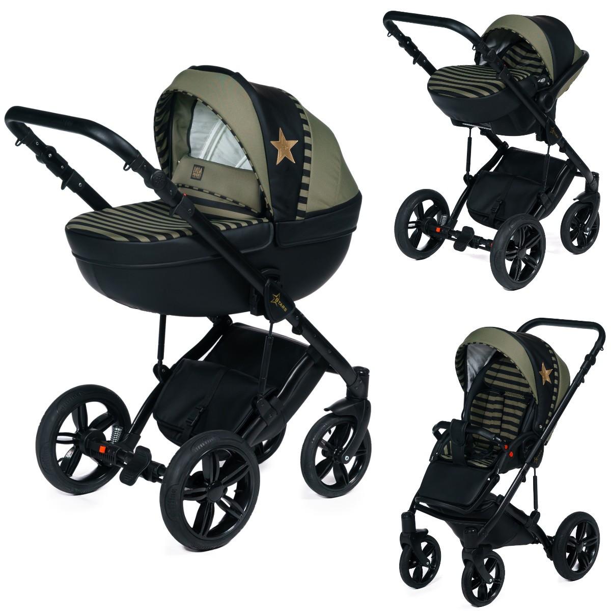 dada paradiso stars 2in1 mit babywanne sportwagenaufsatz buggy oder 3in1 babyschale. Black Bedroom Furniture Sets. Home Design Ideas