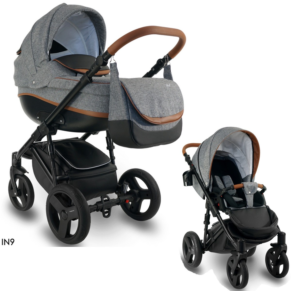 bexa ideal new kombi kinderwagen 2in1 mit babywanne sportwagenaufsatz buggy oder 3in1. Black Bedroom Furniture Sets. Home Design Ideas