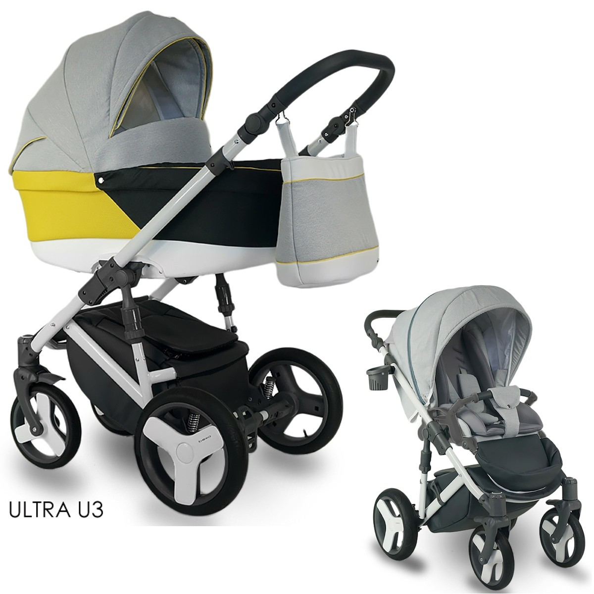 bexa ultra kombi kinderwagen 2in1 mit babywanne sportwagenaufsatz buggy oder 3in1. Black Bedroom Furniture Sets. Home Design Ideas