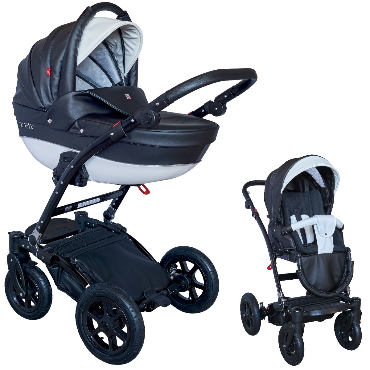 torero eco kombi kinderwagen 2in1 mit babywanne sportwagenaufsatz buggy oder 3in1. Black Bedroom Furniture Sets. Home Design Ideas