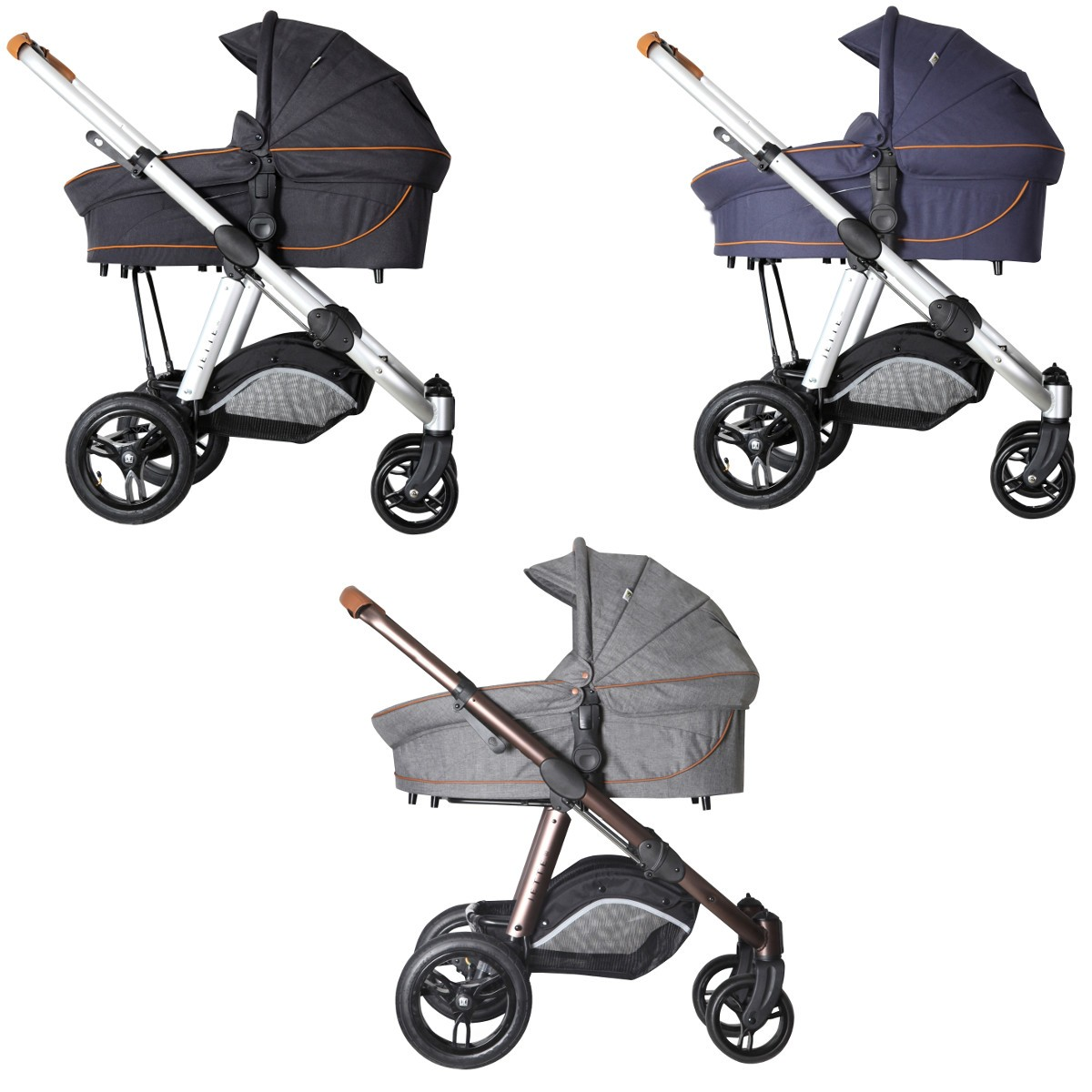 jette joel air kombi kinderwagen 2in1 mit babywanne sportwagenaufsatz buggy. Black Bedroom Furniture Sets. Home Design Ideas