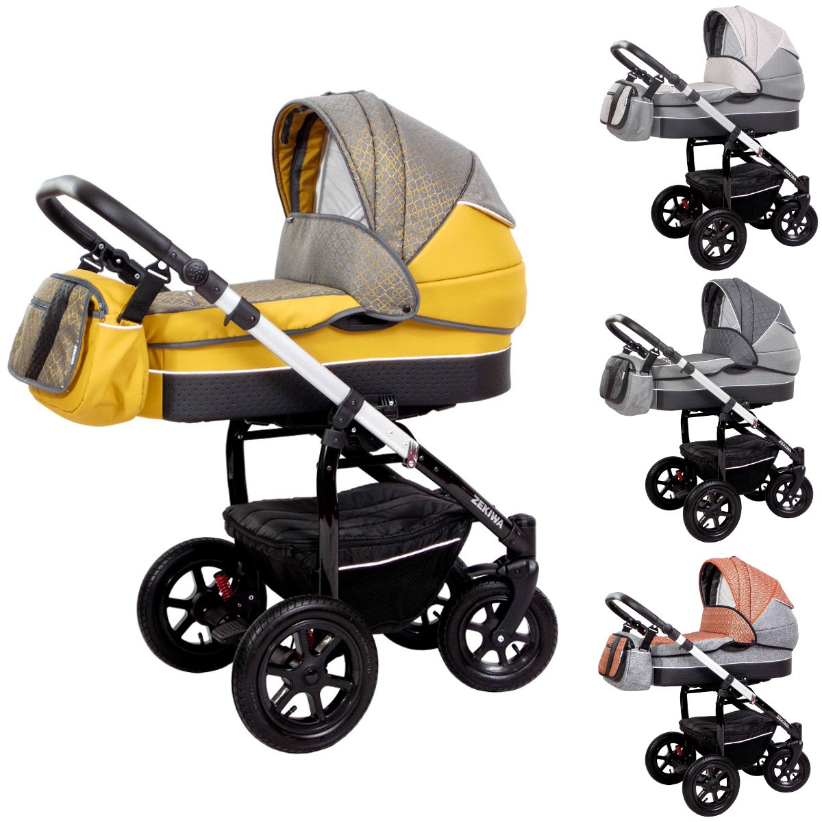 zekiwa kombi kinderwagen saturn premium 2in1 mit babywanne sportwagenaufsatz buggy oder 3in1. Black Bedroom Furniture Sets. Home Design Ideas