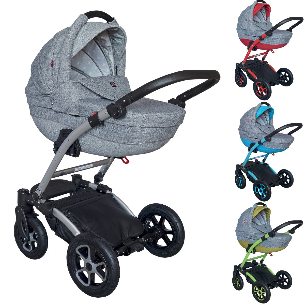 torero kombi kinderwagen 2in1 mit babywanne sportwagenaufsatz buggy oder 3in1 babyschale. Black Bedroom Furniture Sets. Home Design Ideas