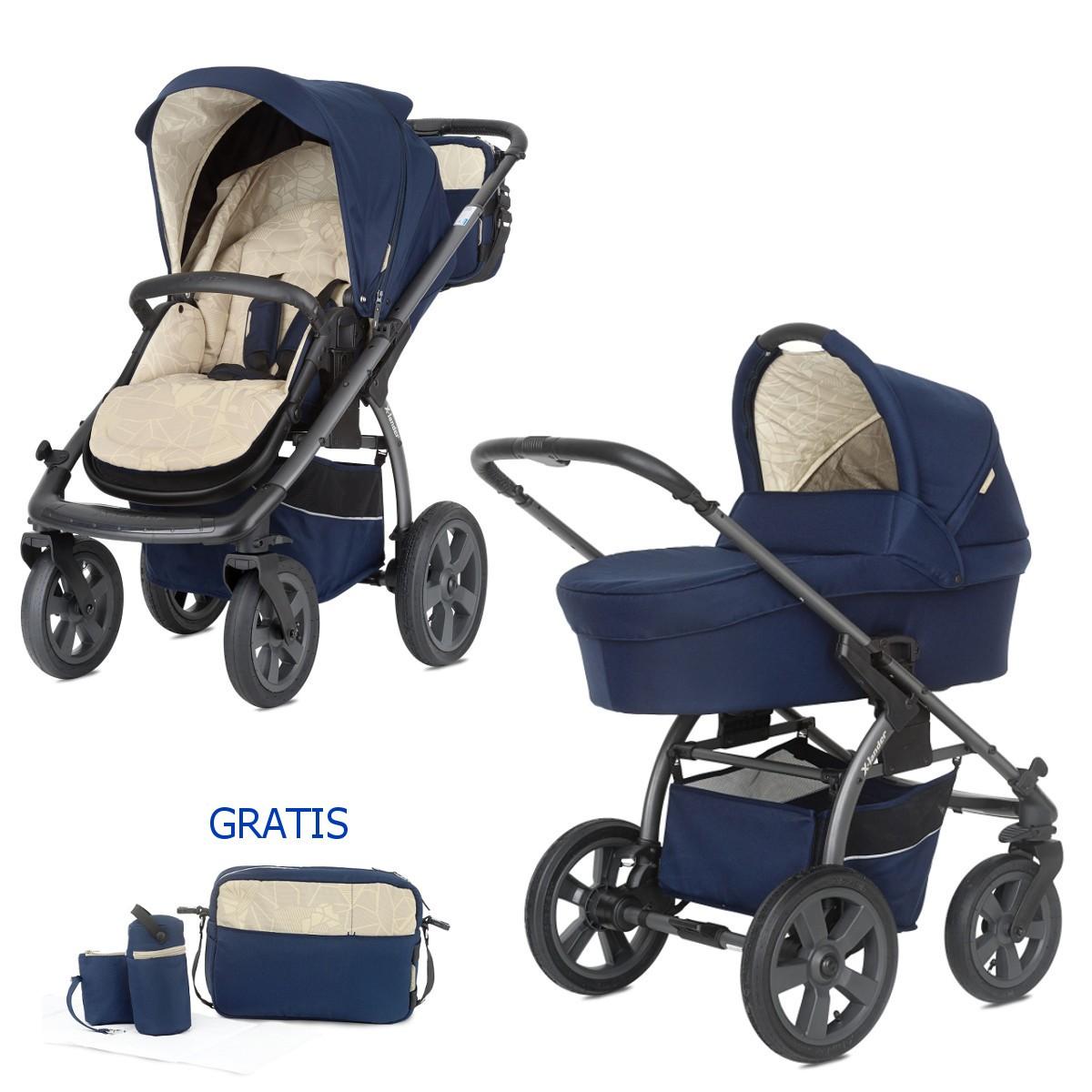 Allrounder Kombi Kinderwagen X Move 2in1 Mit Babywanne Buggy