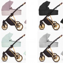 Musse Ultra Kombi Kinderwagen 2in1 mit Babywanne + Sportwagenaufsatz / Buggy oder 3in1 + Babyschale / Autoschale, 4 Farben