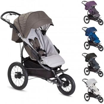 sportlicher Jogging Kinderwagen / Sportwagen X-Lander X-Run - nur Sportwagen oder mit Babywanne, Kollektion 2017, 5 Farben