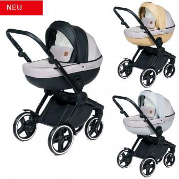 Dada Paradiso Compass 2in1 mit Babywanne + Sportwagenaufsatz / Buggy oder 3in1 + Babyschale / Autoschale, 3 Farben