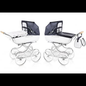 Premium retro Kombi-Kinderwagen klassisch Navington Contessa