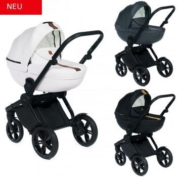 Dada Paradiso Luxor 2in1 mit Babywanne + Sportwagenaufsatz / Buggy oder 3in1 + Babyschale / Autoschale, 3 Farben