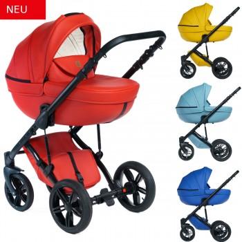 Dada Paradiso Max 500 Eyecatcher 2in1 mit Babywanne + Sportwagenaufsatz / Buggy oder 3in1 + Babyschale / Autoschale, 4 Farben