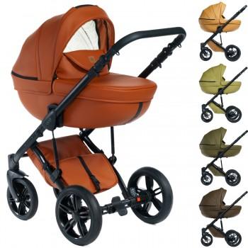 Dada Paradiso Max 500 Naturals 2in1 mit Babywanne + Sportwagenaufsatz / Buggy oder 3in1 + Babyschale / Autoschale, 5 Farben