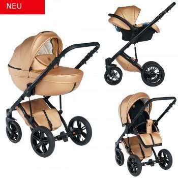 Dada Paradiso Max 500 2in1 mit Babywanne + Sportwagenaufsatz / Buggy oder 3in1 + Babyschale / Autoschale