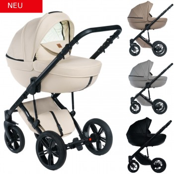 Dada Paradiso Max 500 zeitlos 2in1 mit Babywanne + Sportwagenaufsatz / Buggy oder 3in1 + Babyschale / Autoschale, 4 Farben
