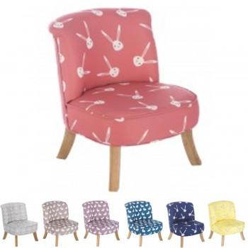 Somebunny Design Luxus Kindersessel, 100% handgemacht, mitwachsend, 7 Farben