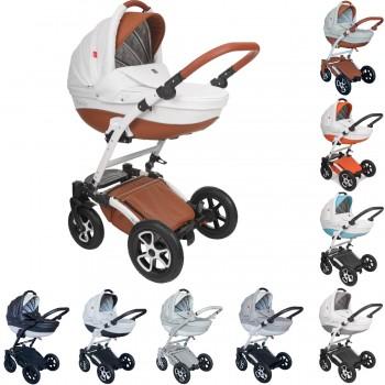Tutek Torero Eco Kombi Kinderwagen, 2in1 mit Babywanne + Sportwagenaufsatz / Buggy oder 3in1 + Babyschale / Autoschale, 7 Farben