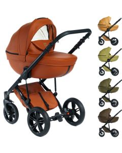 Dada Paradiso Max 500 Naturals 2in1 mit Babywanne + Sportwagenaufsatz / Buggy oder 3in1 + Babyschale / Autoschale, 3 Farben