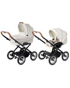 Platzspar Kinderwagen Navington Corvet Royal Collection mit Babywanne