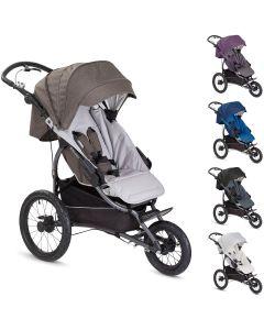 sportlicher Jogging Kinderwagen / Sportwagen X-Lander X-Run - nur Sportwagen oder mit Babywanne, Kollektion 2017, 4 Farben