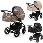 Dada Paradiso Apus 2in1 mit Babywanne + Sportwagenaufsatz / Buggy oder 3in1 + Babyschale / Autoschale, limited edition 3 Farben