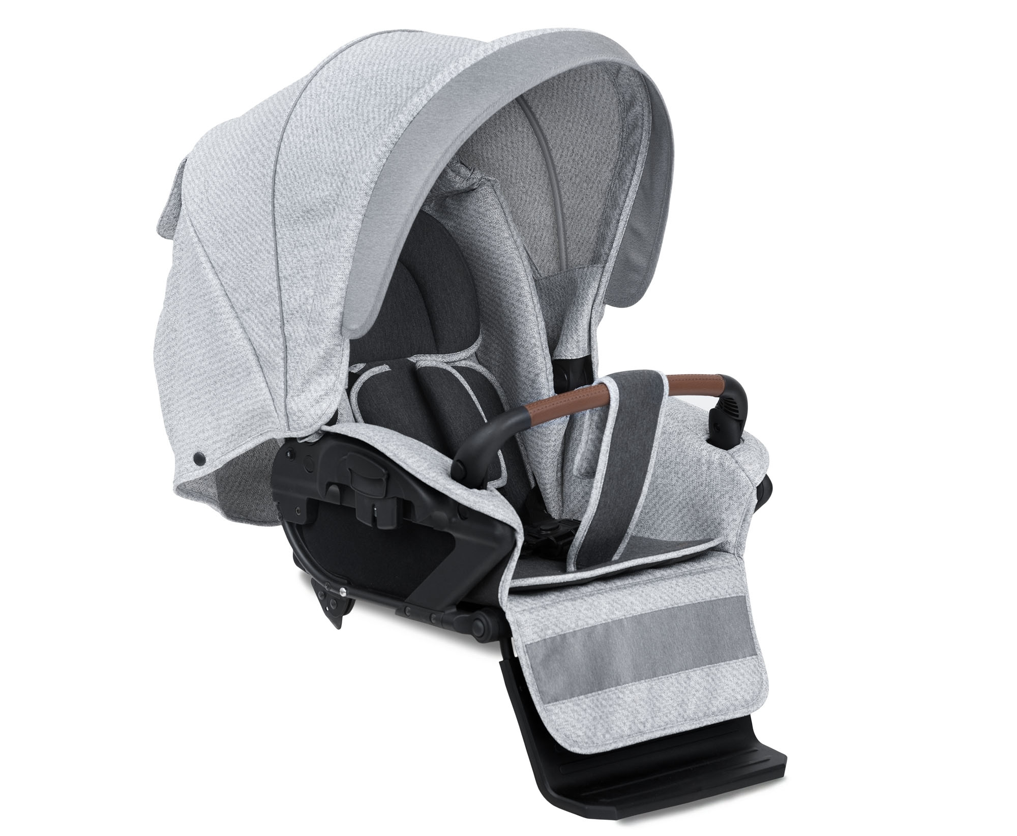 luxus retro kombi kinderwagen navington caravel stoff mit babywanne 8 farben. Black Bedroom Furniture Sets. Home Design Ideas